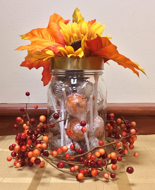 Original Gourmet™ Lollipop Fall Centerpiece