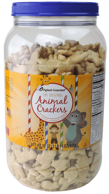 30oz Animal Cracker Tub