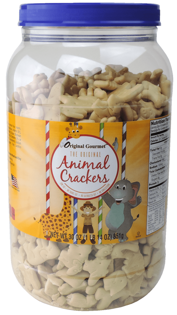 30 oz Animal Cracker Tub