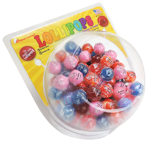 Bubble Bowl Display + 200 Mini Lollipops