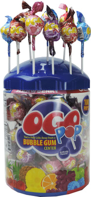 100ct. Bubble Gum Pop Tub
