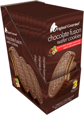 3pk Fusion Wafer Cookies