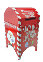20ct Santa Mailbox Mini Lollipop Box NOW 2 for $10