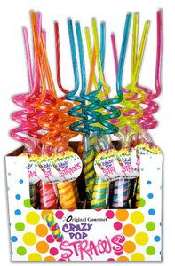 Crazy Straw Pops 20ct
