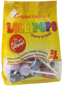 25ct. Original Flavor Mini Lollipop Bag