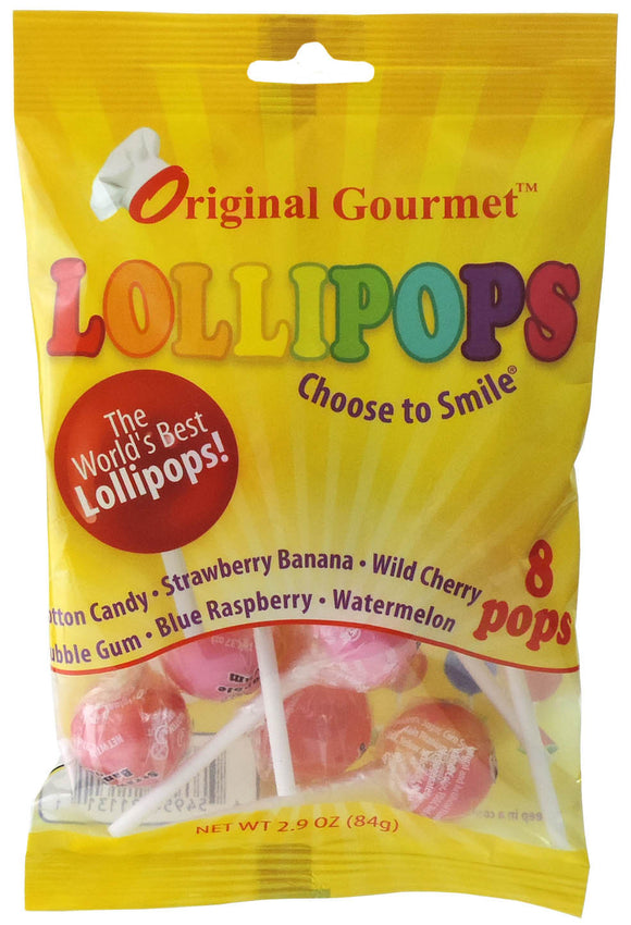8ct. Original Flavor Mini Lollipop Bag