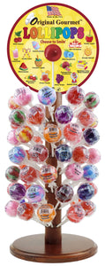 Lollipop Counter Display + 120 Lollipops