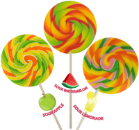 5oz Sour Paddle Swirl Pop, 12ct.