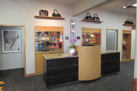Kalena's Shoes Store Display