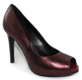 Donna Piu Mani Per Leather High Heel Pump Angled