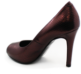 Donna Piu Mani Per Leather High Heel Pump Heel