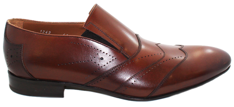 DOUCAL'S - Leather Slip-On - KALENA's Shoes