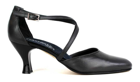ESMERALDA - Medium Pump with Ankle Strap. - KALENA's Shoes