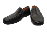 Geox Casual Moccasin Slip-On Black Pair
