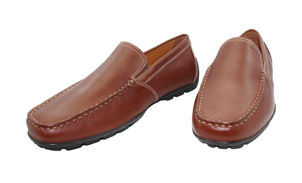 Geox Casual Moccasin Slip-On Brown Pair