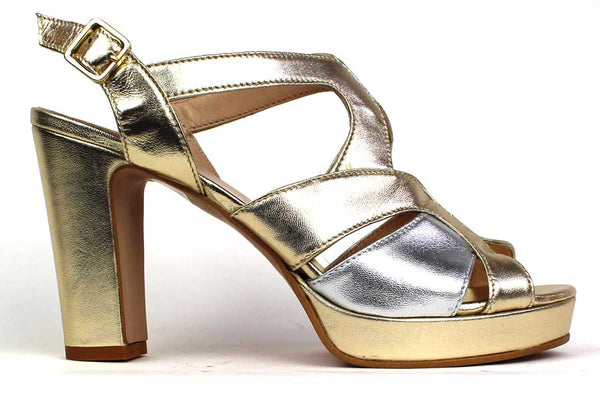 KALENA'S - 3 Inch Heel Open-Toe Sandal with Strap Design - KALENA's Shoes