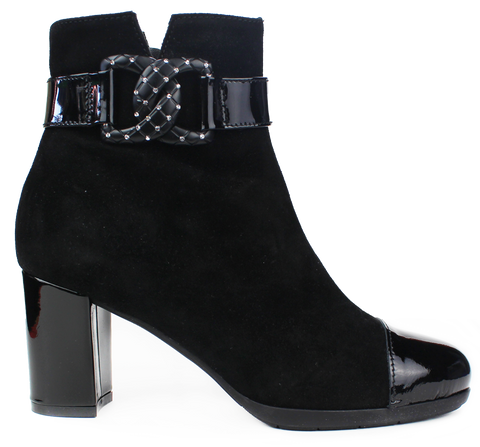 Vernissage Vernissa - Suede / Patent Ankle Boot