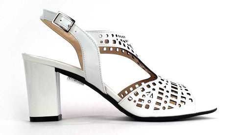 KALENA'S - Open Toe Sandal with Mesh Pattern - KALENA's Shoes