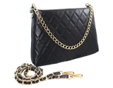 SARA BURGLAR - Quilted Shoulder Bag - KALENA's Shoes
