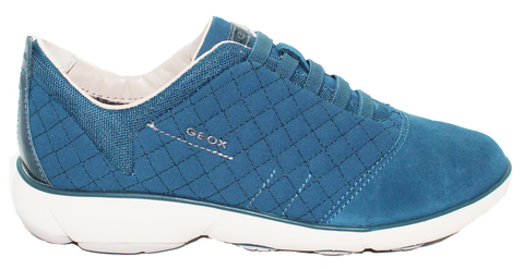 Geox Casual Slip-Ons Turquoise Side
