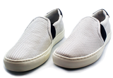 Geox Casual Flat Slip-On Shoe White Pair