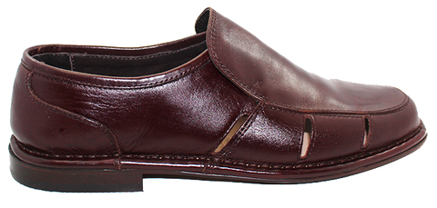 FRATELLI VANNI - Leather Shoe With Side Openings