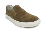 DOK - Suede and Leather Slip-Ons