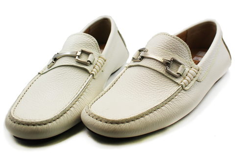 Iceberg Casual Moccasin Slip-On White Pair