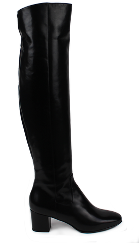 KALENA'S Knee High Leather Tall Boots - KALENA's Shoes