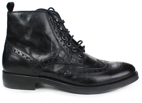GEOX Respira Brogue Style Boots