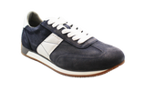 GEOX Casual Lace-Up Sneaker Blue Angled