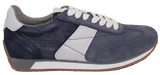 GEOX Casual Lace-Up Sneaker Blue Side