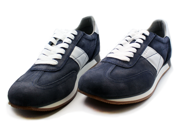 GEOX Casual Lace-Up Sneaker Blue Pair