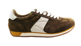 GEOX Casual Lace-Up Sneaker Brown Side