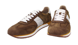 GEOX Casual Lace-Up Sneaker Brown Pair