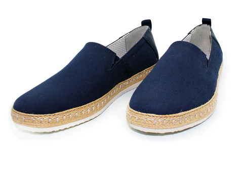 Geox Casual Slip-On Shoe Blue Pair
