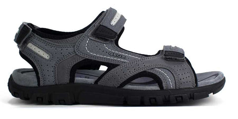 GEOX - Men's Sandals With Cross Strap - KALENA's Shoes