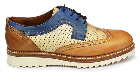 KALENA'S - Lace-Up Brogue Shoe