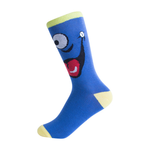Kid's Crew - Silly Socks - Blue Whale
