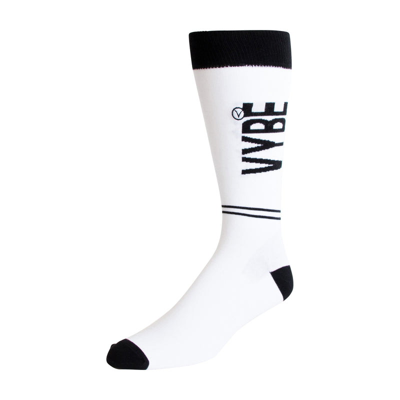 Men's Dress Sock - Black VYBE