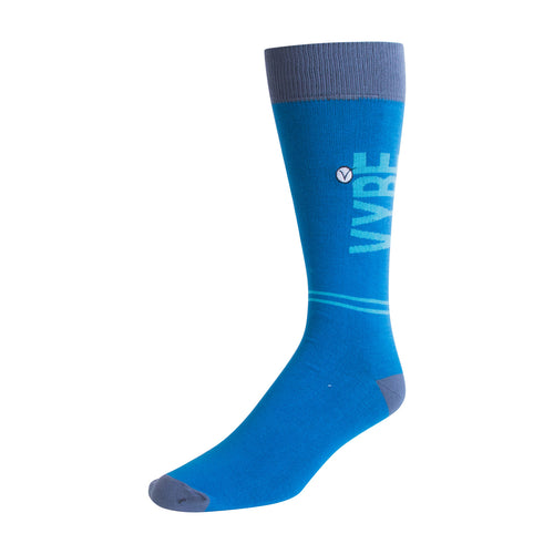 Men's Dress Sock - Blue VYBE