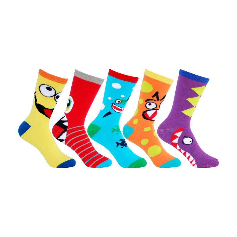 New Color SILLY Sock 5-pack!