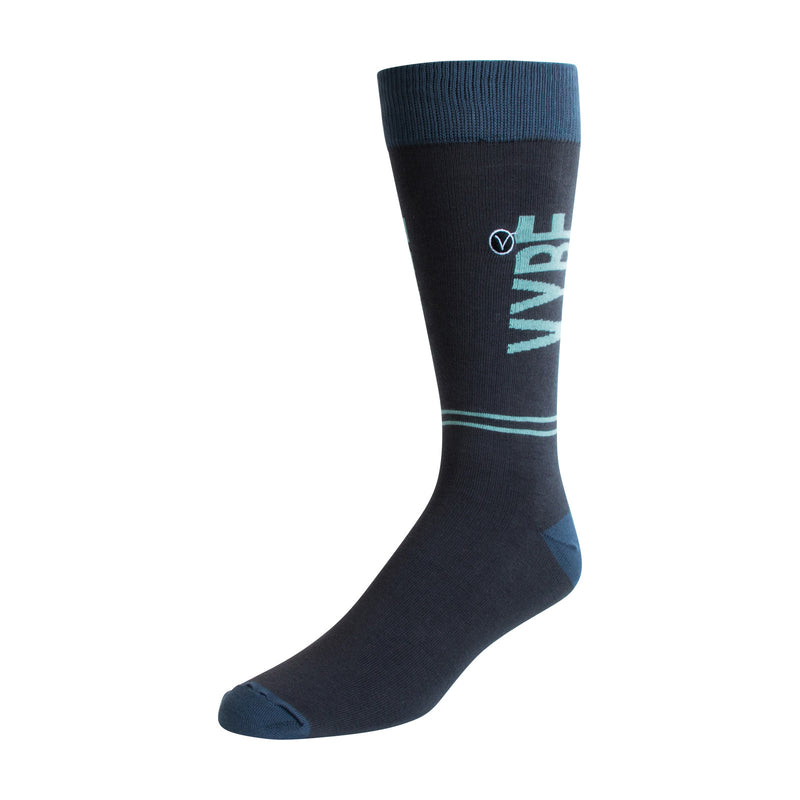 Men's Dress Sock - Green VYBE