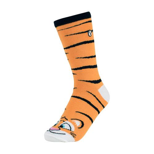 Kid's Crew - Silly Socks - Tiger