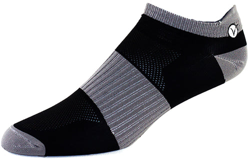 Athletic Socks (Grey and Black Ankle)