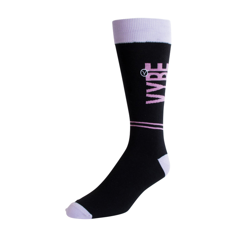 Men's Dress Sock - Pink VYBE