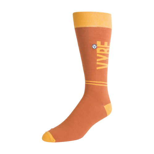 Men's Dress Sock - Yellow VYBE