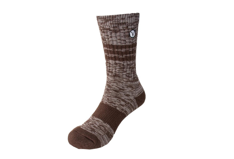 Boy's Casual Crew Sock - Brown