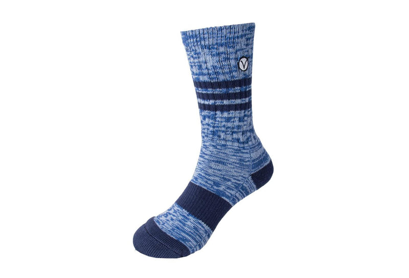 Boy's Casual Crew Sock - Blue