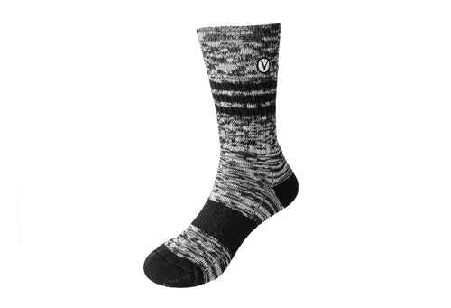 Boy's Casual Crew Sock - Charcoal Gray